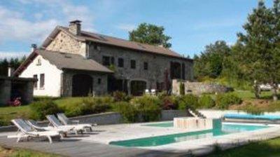 Demeure de 1850 avec piscine chauffée